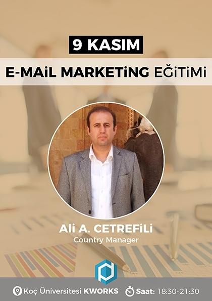 E-Mail Marketing Eğitimi Etkinlik Afişi