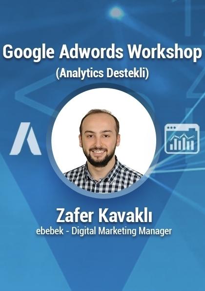 İleri Seviye Google Adwords Eğitimi Etkinlik Afişi
