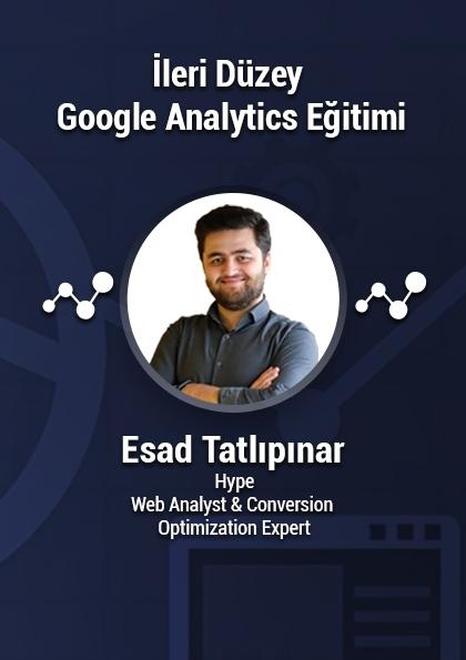 İleri Seviye Google Analytics Eğitimi Etkinlik Afişi
