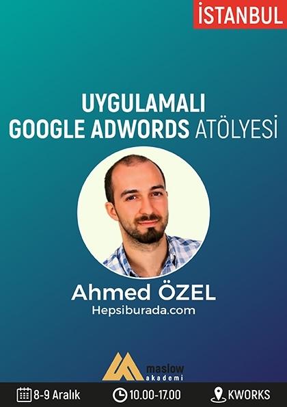 Uygulamalı Google Adwords Atölyesi Etkinlik Afişi