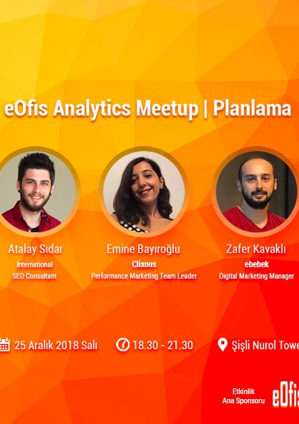 eOfis Analytics Meetup | Planlama