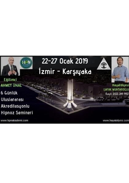 Ahmet Ünal ile Uluslararası Akreditasyonlu Temel Hipnoz Semineri Etkinlik Afişi