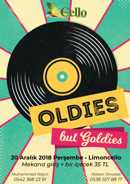 Oldies but Goldies Party Afişi