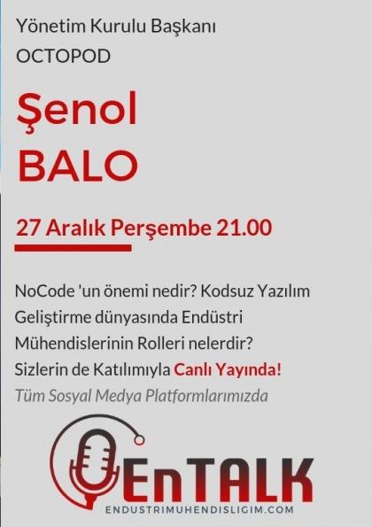 EnTalk - Şenol Balo Etkinlik Afişi
