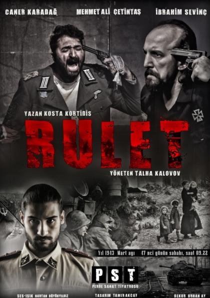 Rulet / Oray Sanat Sahne Ankara Afişi