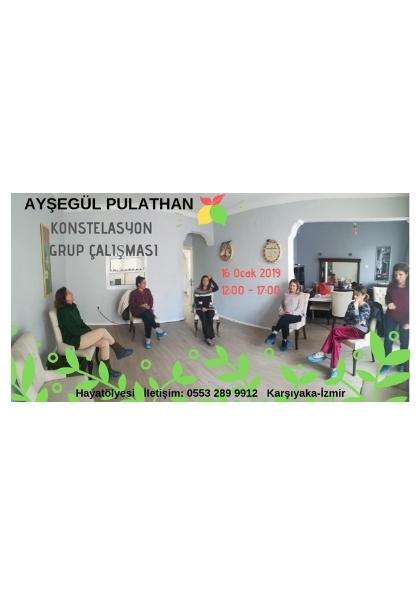 AYŞEGÜL PULATHAN ile Konstelasyon Grup Çalışması Etkinlik Afişi