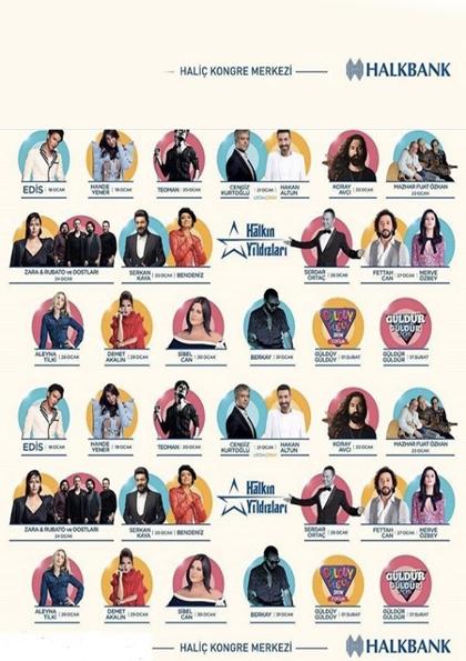Halkbank Halkın Yıldızları Afişi