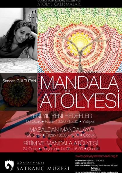 Masaldan Mandalaya Etkinlik Afişi