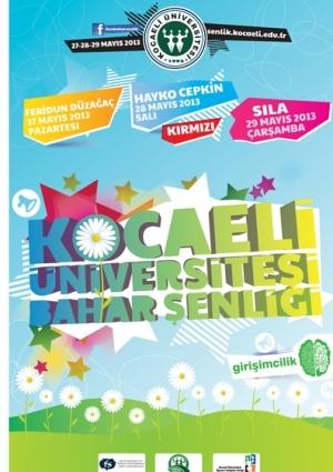 Kocaeli Üniversitesi Bahar Şenlikleri: Feridun Düzağaç Konseri Etkinlik Afişi