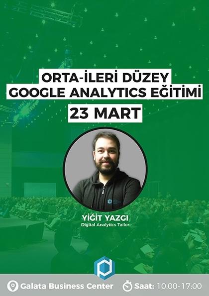 İleri Düzey Google Analytics Eğitimi Afişi