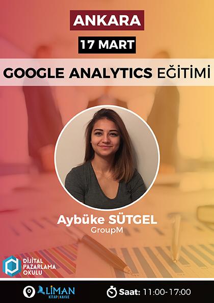 Google Analytics Eğitimi [Ankara] Etkinlik Afişi