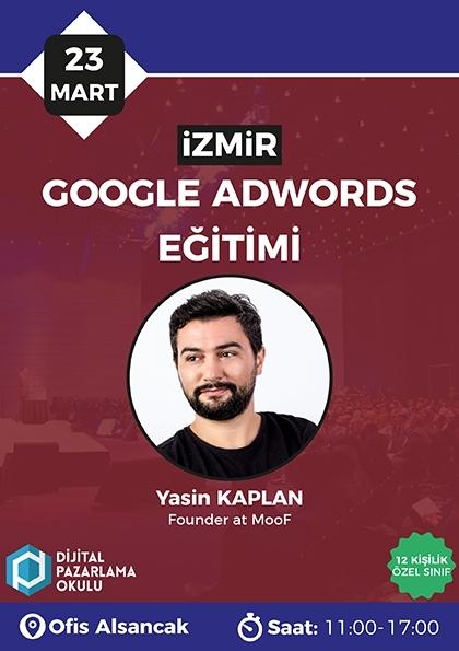 Google Ads Eğitimi [İzmir] Etkinlik Afişi
