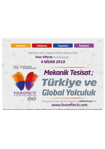 Mekanik Tesisat ;Türkiye ve Global Yolculuk Afişi