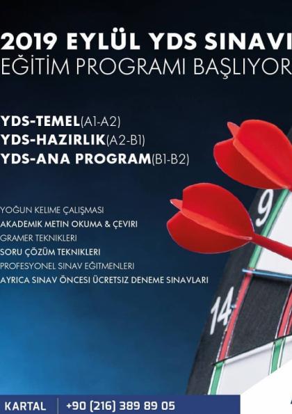 YDS - YÖKDİL SINAV EĞİTİMİ - ANA PROGRAM Afişi