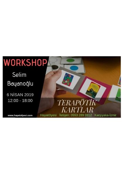 Terapötik Kartlar Workshop Etkinlik Afişi