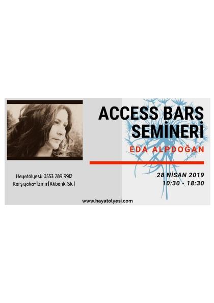 Eda Alpdoğan ile Access Bars Semineri Etkinlik Afişi