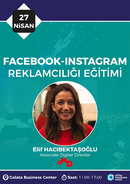 Facebook-Instagram Reklamcılığı Eğitimi Etkinlik Afişi