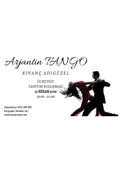 Arjantine Tango Ücretsiz Tanıtım Etkinlik Afişi