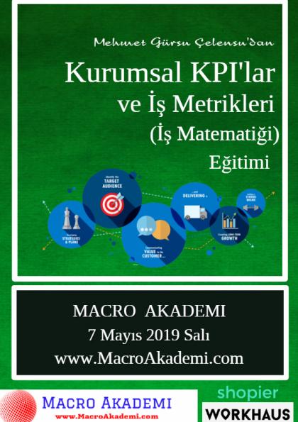 Kurumsal KPI'lar ve İş Metrikleri Eğitimi (İş Matematiği)