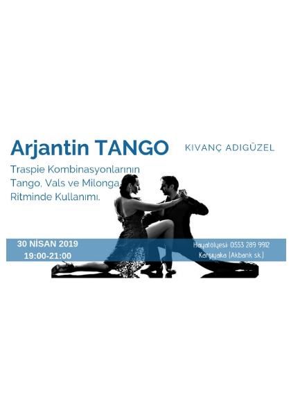 Arjantin Tango Workshop Etkinlik Afişi