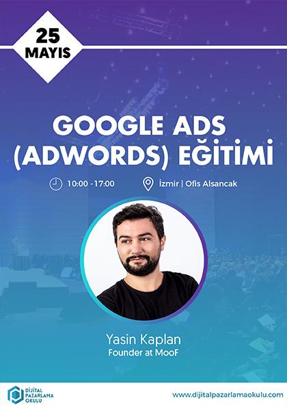 Google Ads Eğitimi [İzmir] Afişi