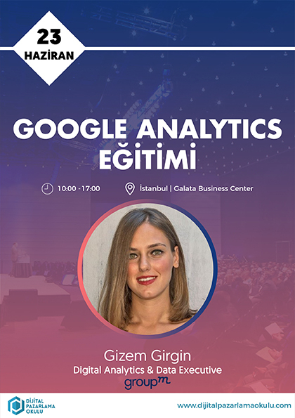 Google Analytics Eğitimi Afişi