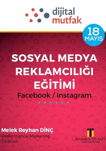 Sosyal Medya Reklamcılığı Eğitimi Etkinlik Afişi