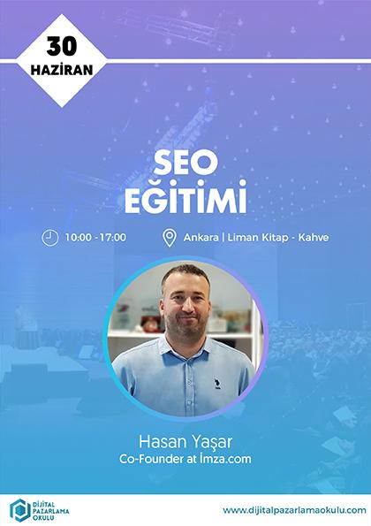 SEO Eğitimi [Ankara] Etkinlik Afişi