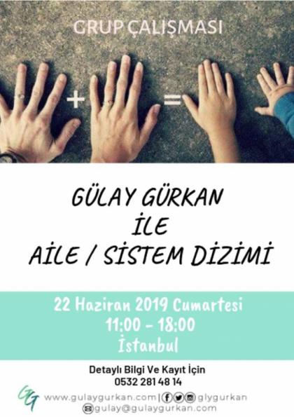Aile Dizimi - İstanbul | 22 Haziran 2019 Etkinlik Afişi