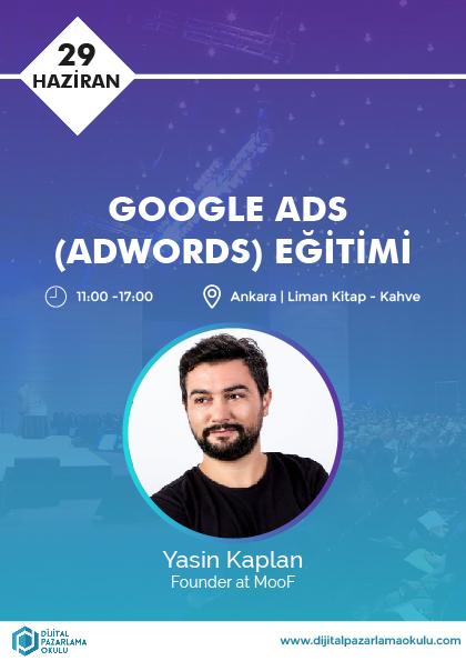 Google Ads Eğitimi [Ankara] Afişi
