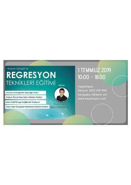 Regresyon Teknikleri Semineri Etkinlik Afişi