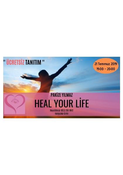 ÜCRETSİZ TANITIM  '' Heal Your Life '' Etkinlik Afişi