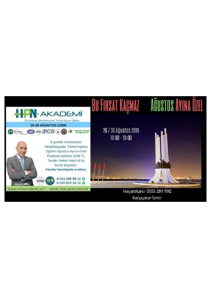 AHMET ÜNAL Akreditasyonlu Temel Hipnoz Semineri