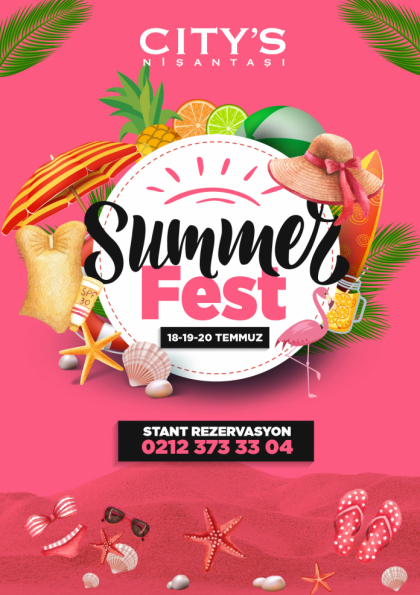 City's Summerfest Afişi