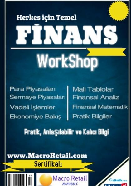 Finansçı Olmayanlar için Finans Eğitimi Etkinlik Afişi
