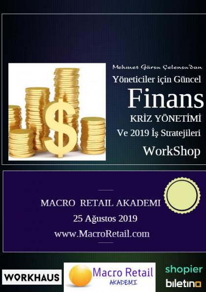 Yöneticiler için Finans, Kriz Yönetimi ve İş Stratejileri Eğitimi Afişi