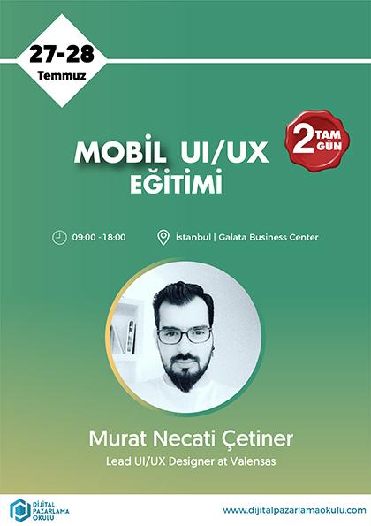 Mobil UI/UX Eğitimi Etkinlik Afişi