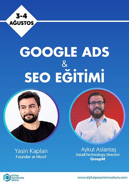 Google Ads & SEO Eğitimi [İzmir] Etkinlik Afişi