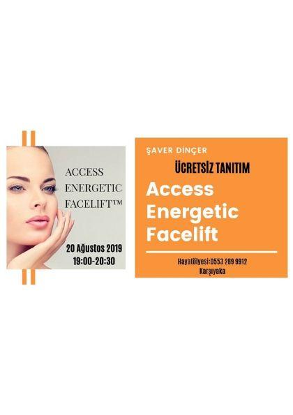 '' ÜCRETSİZ '' Access Energtic Facelift Tanıtım Etkinlik Afişi