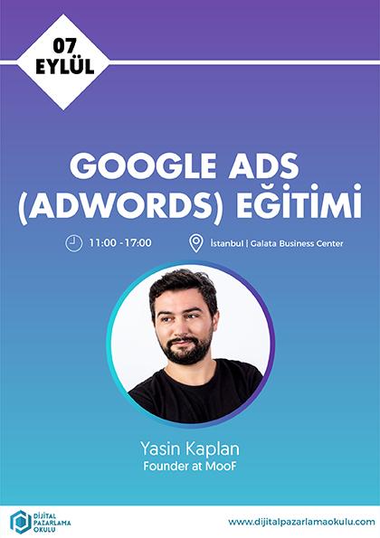 Google Ads Eğitimi Afişi