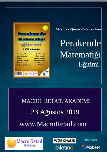 Perakende Matematiği ve Metrikleri Eğitimi Etkinlik Afişi