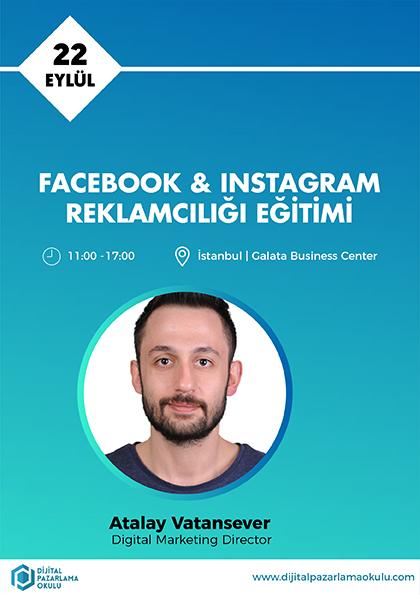 Facebook-Instagram Reklamcılığı Eğitimi Afişi
