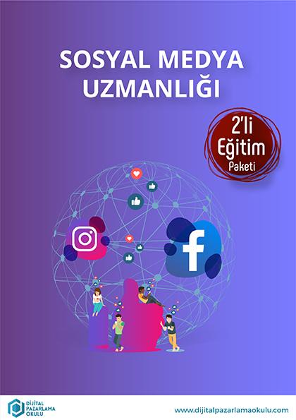 Sosyal Medya Uzmanlığı 2'li Eğitim Paketi Etkinlik Afişi