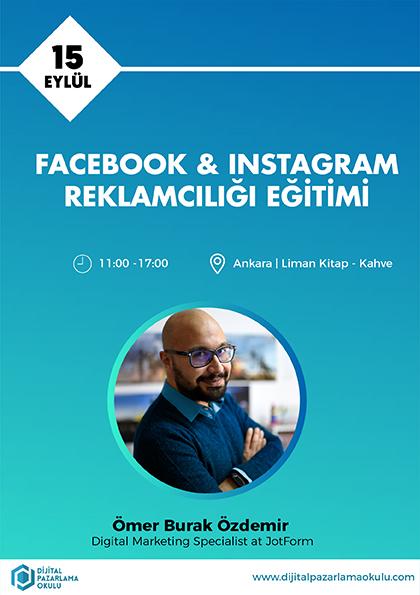 Facebook-Instagram Reklamcılığı Eğitimi [Ankara] Etkinlik Afişi