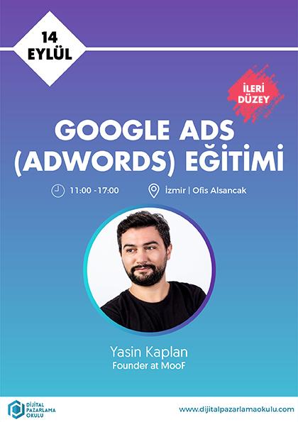 İleri Düzey Google Ads Eğitimi [İZMİR]