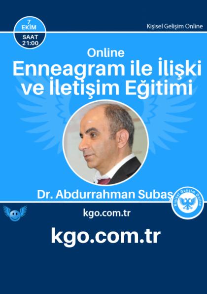 Enneagram ile iletişim ve ilişki eğitimi Etkinlik Afişi