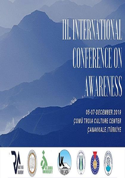 III. Uluslararası Farkındalık Kongresi Afişi