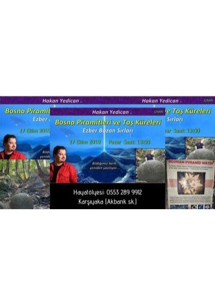 Hakan YEDİCAN ile Bosna Piramitleri ve Taş Küreleri'nin Ezber Bozan Sırları Afişi