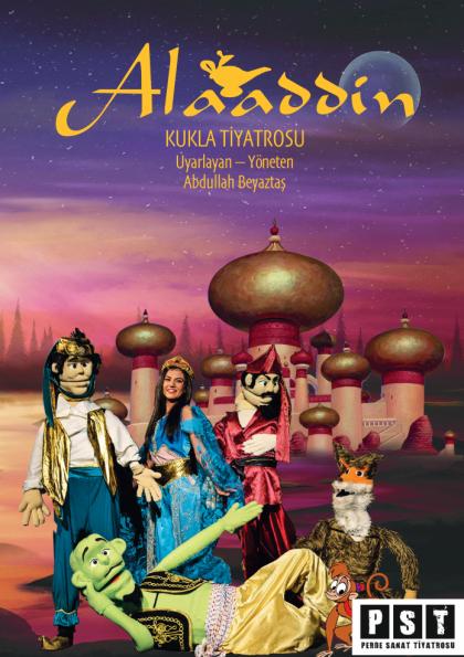 Alaaddin - Kukla Tiyatrosu / Devlet Tiyatroları Afişi