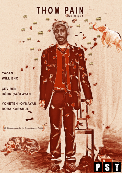 Thom Pain / Çankaya Belediyesi Afişi